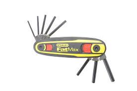 stanley 097552 1 5 8mm fatmax locking hex key set amazon co uk