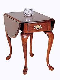 drop leaf end table cherry dropleaf end table
