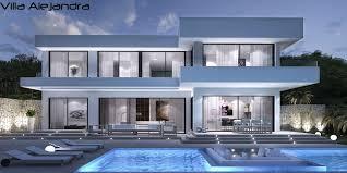 life style homes villa mit pool by lifestyle homes ag moderne spanische villa mit
