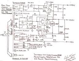 transformer for power supply wiring diagram components