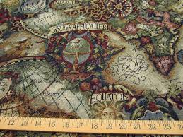 Map Tapestry Old World Map Tapestry Jewel