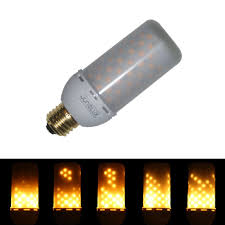 junolux led decorative light lamps flicker flame light bulb fire