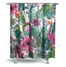 India Shower Curtain Shower Curtain Cactus Shower Curtain India Ruffle Shower