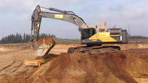 new volvo ec480e excavator with trimble 3d gps loading volvo