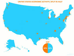 map us states world economies map us concentration business insider