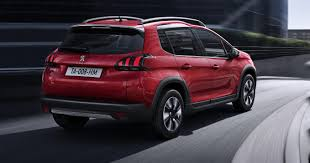 peugeot 2008 crossover new peugeot 2008 compact suv myautoworld com