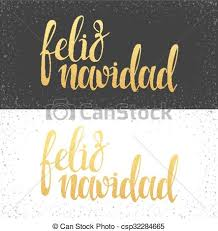 feliz navidad christmas card merry christmas card with greetings in language clip