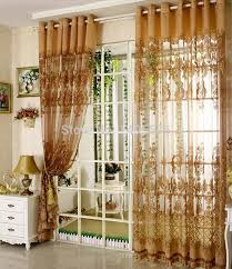 curtains european style curtains ideas living room brown curtain