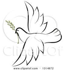 peace dove clipart flight sketch pencil and in color peace dove