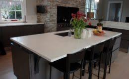 Kitchen Island Countertop Overhang Verdicrete Concrete Countertops Brooks Custom