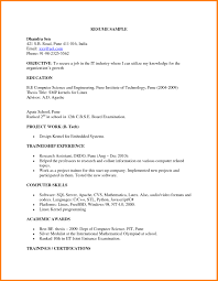 Computer Job Resume by Examples Of Resumes Manager Resume Samples Free First Job Google
