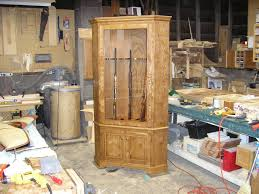 free gun cabinet plans with dimensions deck free corner gun cabinet plans