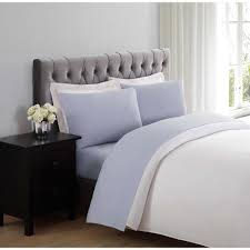 soft bed sheets truly soft everyday lavender twin sheet set ss1658latw 4700 the