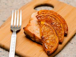 Cook Salmon In Toaster Oven How To Oven Grill A Maple Orange Salmon Fillet On A Natural Oval