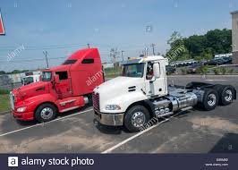 kenworth tractor trailer tractor trailer truck cabs for sale red one with sleeper
