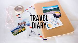 Travel diary how to