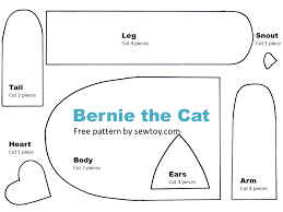 how to sew carefree cat from scraps free pattern sew