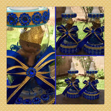 prince baby shower decorations one royal blue prince baby shower centerpiece prince