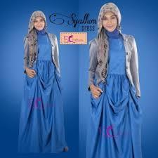 dress pesta dress pesta syalum dress fashionmuslim id