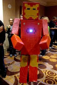 Minecraft Costume 20 Amazing Minecraft Costumes At Minecon 2011 Minecraft