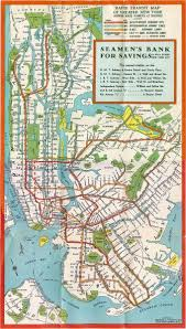 map of new york subway new york subway map 1930 nyc mappery