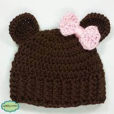 baby girl crochet free crochet baby girl newborn hat amk crochet