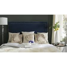 nautica bed pillows country bedroom design with safavieh navy blue upholstered
