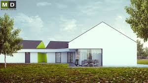 l shaped bungalow with a separate garage and a gable roof sv tla l shaped bungalow with a separate garage and a gable roof sv tla ve slezsku