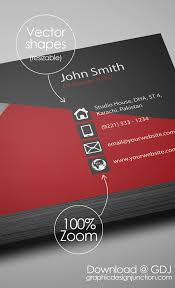 Studio Visiting Card Design Psd Free Creative Red Business Card Psd Template Freebies Graphic