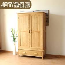 Antique Oak Bedroom Furniture Wardrobes Antique Oak Wardrobe Closet Solid Wood Closet