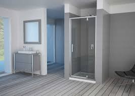 Shower Door Pivot Luxus Telescopic Pivot Shower Door Framed Pacific Aqua Line