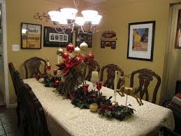 dining room christmas decor christmas dining room table decorations large and beautiful