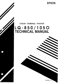 epson lq 850 lq 1050 service manual download schematics eeprom
