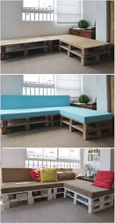 How To Make A Seat Cushion For A Bench Best 25 Pallet Sofa Ideas On Pinterest Pallet Furniture Pallet