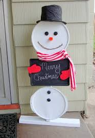 creative and diy snowman decorations