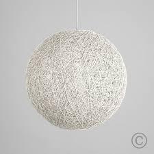 modern white pendant light lighting silver ball pendant light cool l frandsen woven shade