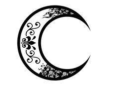 half moon symbol zoeken tats