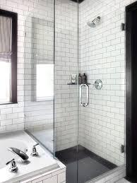 White Contemporary Bathrooms Bathroom Gallery Black And White Bathroom Designs Tiles Design