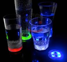 glow in the cups led mini bottle glow bottle bright display glorifier colors