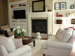 Built In Tv Fireplace Transforming A Fireplace And Built In Bookcases Love The Stone