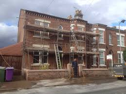 exterior brick cleaning and paint removal sandblasting wirral