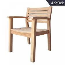 Esszimmerst Le Holz Mit Armlehne Sonstige Gartenstühle Aus Holz Und Weitere Gartenstühle Günstig