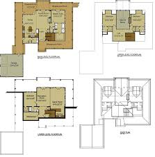 cottage plan lake house plans with loft floor cabin small top