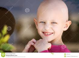 Hair Loss From Chemo Cancer Child Stock Photo Image 34623150