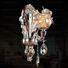 2 light old world candle type wall sconces for bedroom