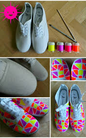 give your shoes a makeover with these 18 diy projects