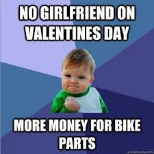 No Valentine Meme - no girlfriend on valentine s day nobmob