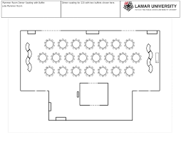 office of event management reception center rooms layout