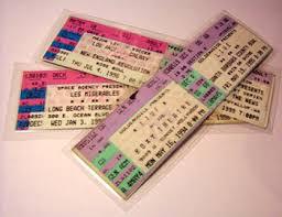 ticket stub album diy ticket stub crafts stuart s website