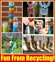 weekly kids co op fun with recycling the empowered educator